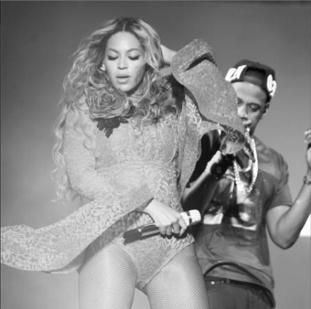 Jay Z Beyonce LA